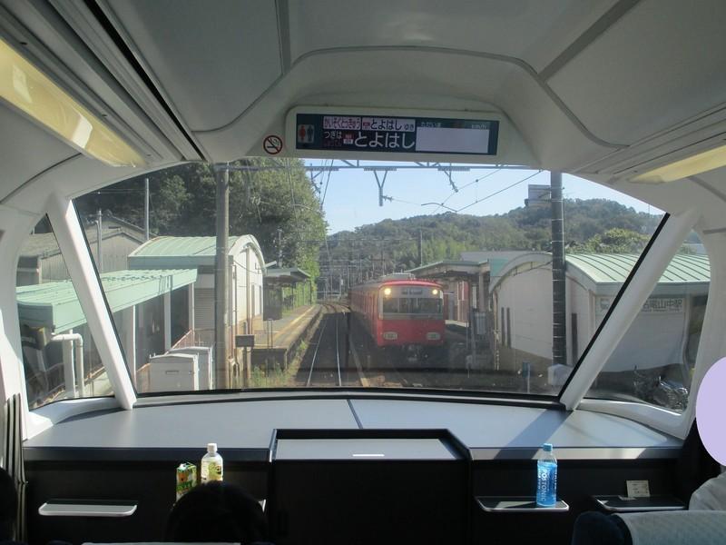 2019.10.28 (8) 豊橋いき快速特急 - 山中(東岡崎いきふつう) 1800-1350