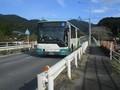 2019.10.28 (54) 嵩山中村バス停 - 豊橋駅前いきバス 2000-1500