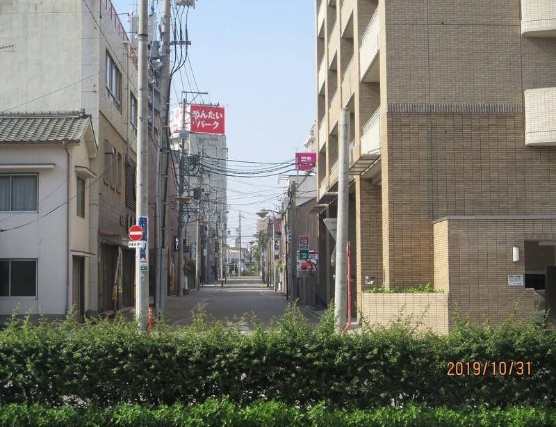 2019.10.31 (26) 宮宿 - 大津どおりにつきあたる 1940-1490