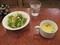 2019.11.7 (115) 珈琲館南蛮茶 - スープとやさいサラダ 1000-750