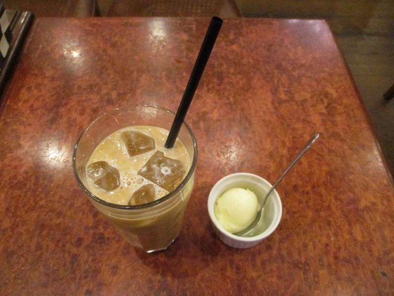 2019.11.7 (117) 珈琲館南蛮茶 - アイスコーヒーとアイスクリーム 1000-750