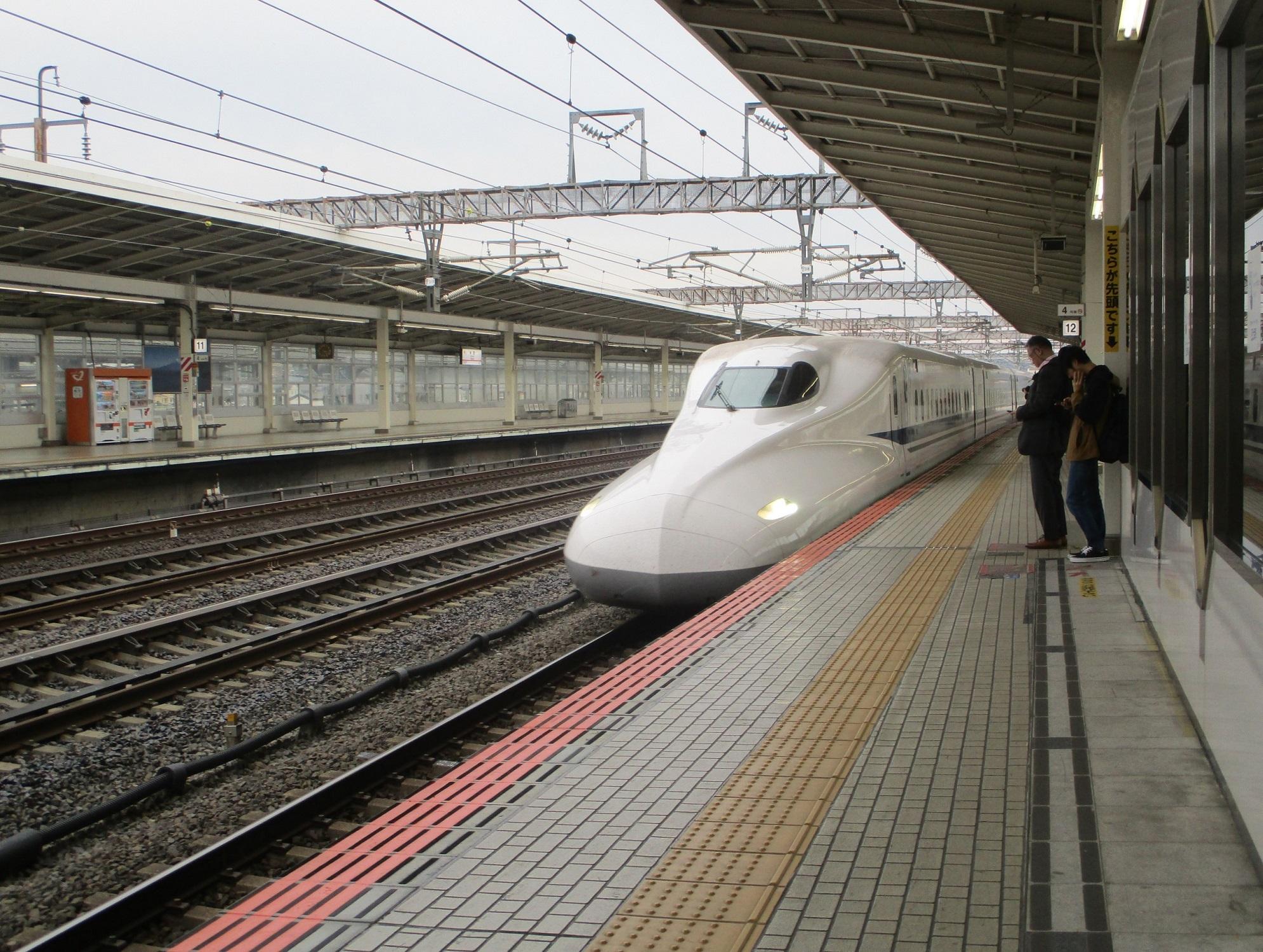 2019.11.7 (127) 米原 - 東京いきこだま号 1990-1500