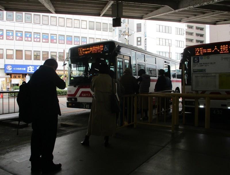 2019.11.11 (2) 東岡崎 - 奥殿陣屋いきバス 1380-1050