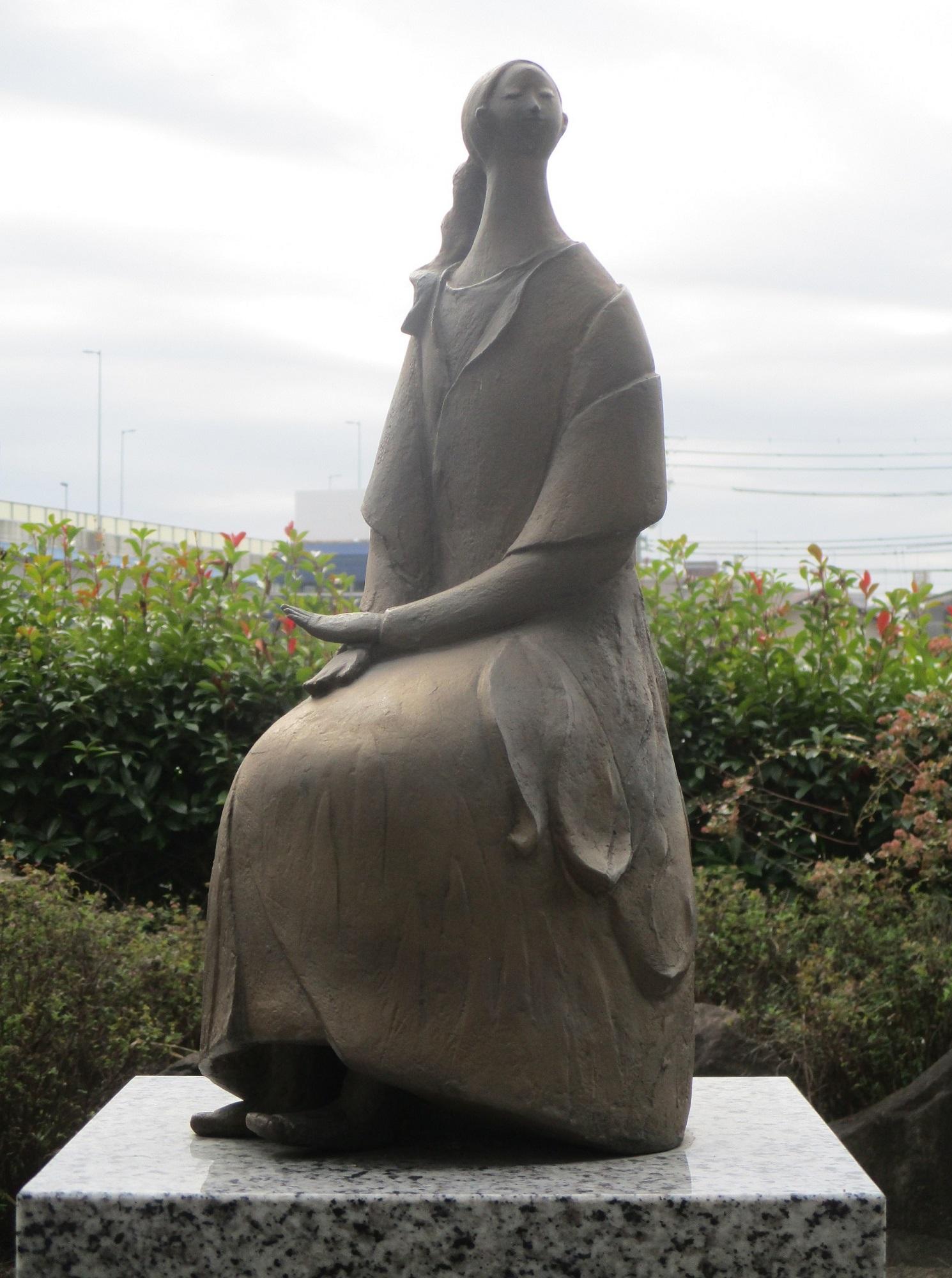 2019.11.13 (21) 東海道 - かきつばたひめの銅像 1490-2000