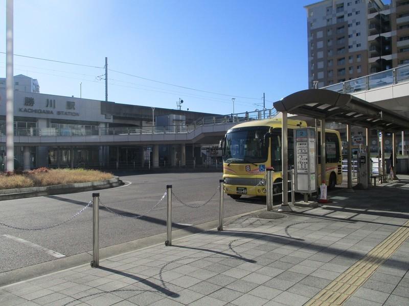 2019.11.29 (18) 勝川駅 - 春日井市民病院いきバス 2000-1500