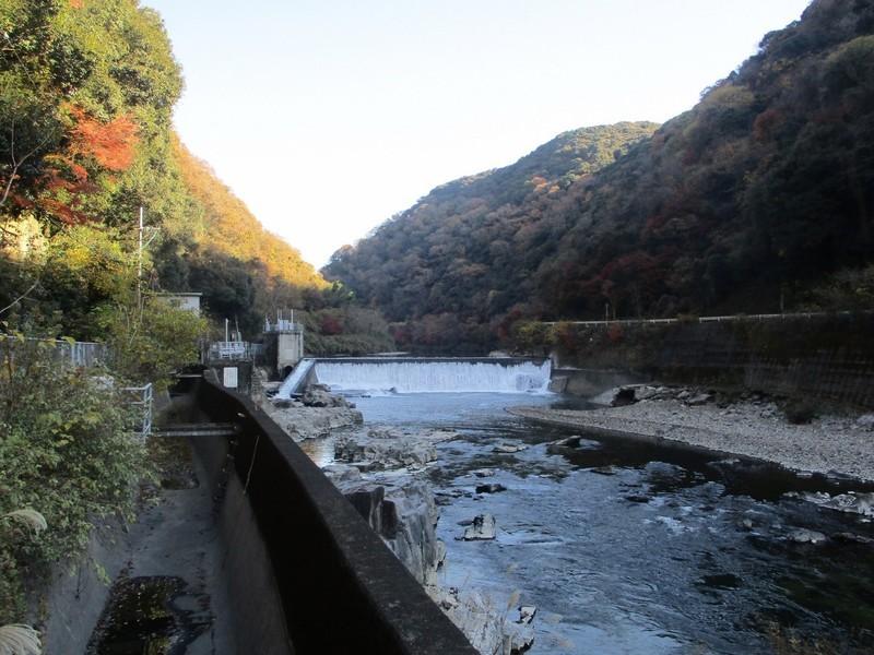 2019.12.1 (33) 定光寺 - 庄内川(玉野堰堤) 2000-1500