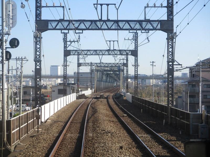 2019.12.16 (57) 新宿いき急行 - 相模川鉄橋 1760-1320