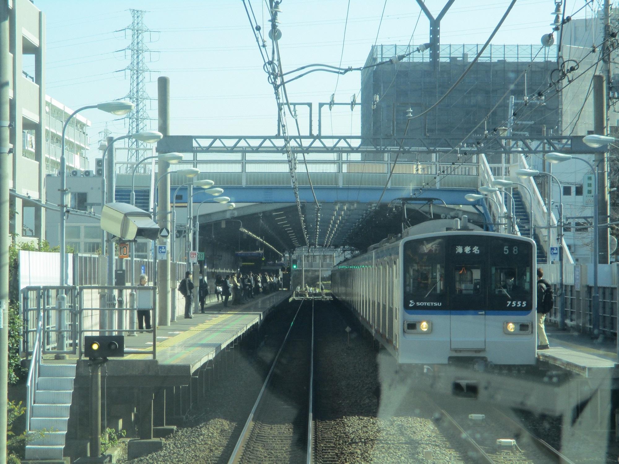 2019.12.16 (90) 新宿いき各停 - 希望ヶ丘 2000-1500