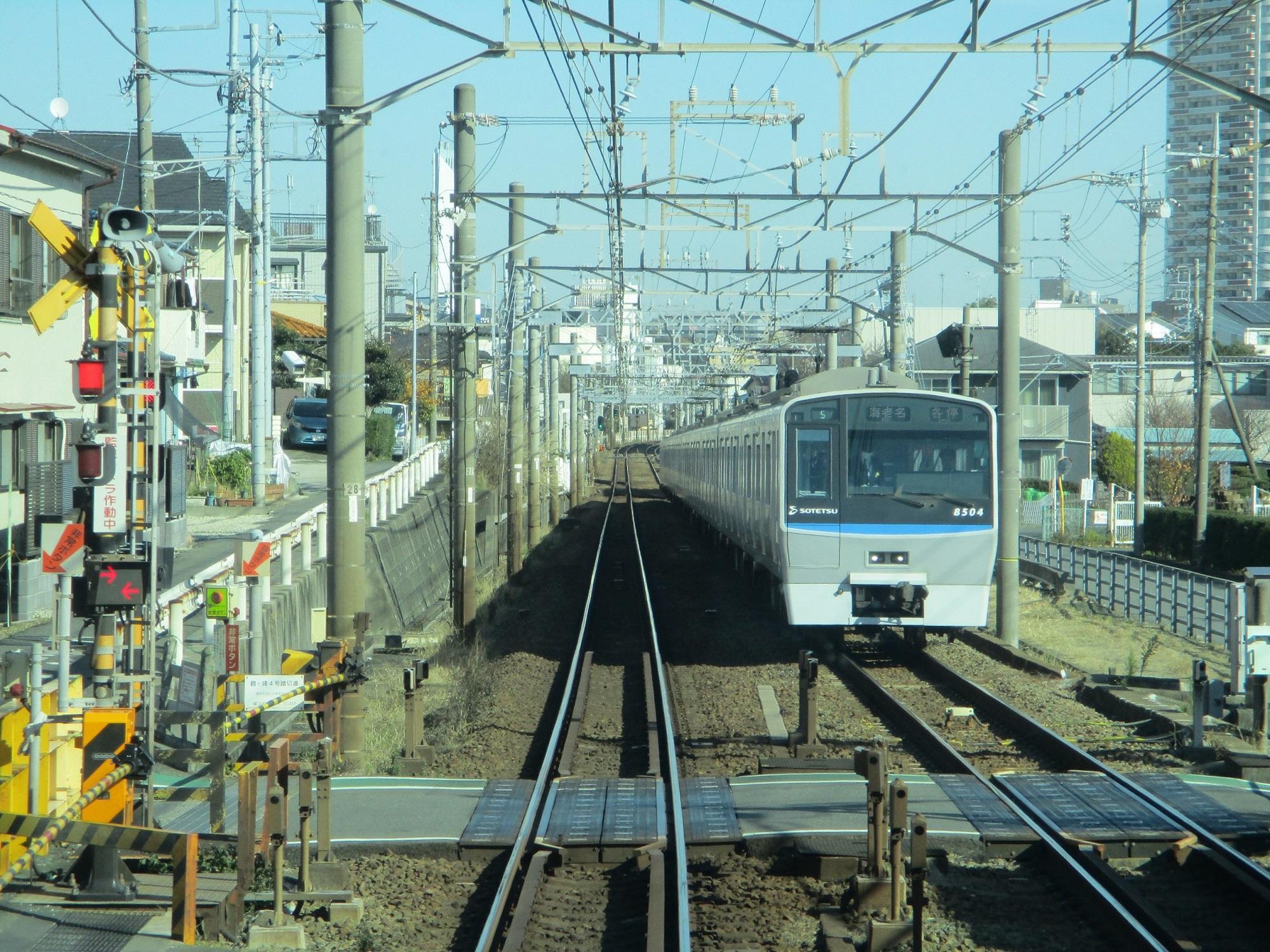 2019.12.16 (96) 新宿いき各停 - 二俣川鶴ヶ峰間 2000-1500