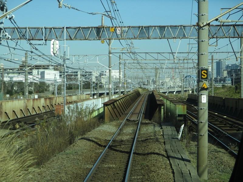 2019.12.16 (115) 新宿いき各停 - 鶴見川をわたる 1600-1200