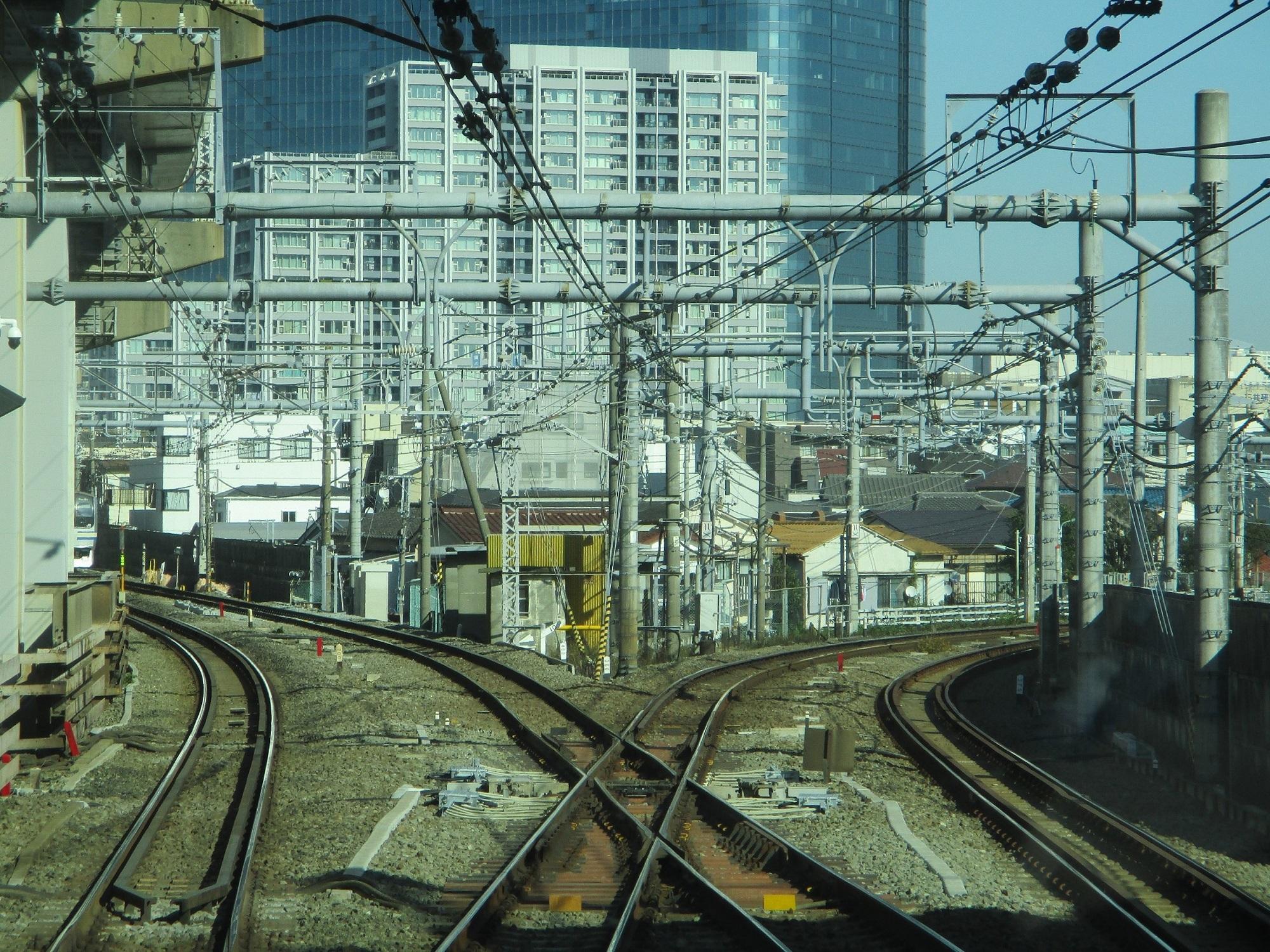 2019.12.16 (133) 新宿いき各停 - 西大井大崎間(分岐) 2000-1500