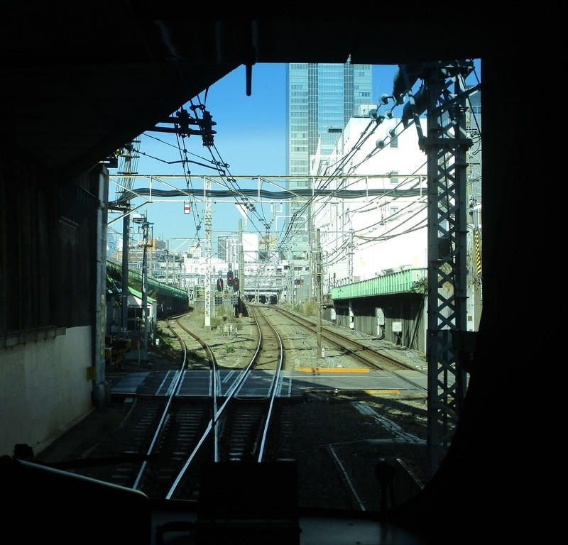 2019.12.16 (151) 新宿いき各停 - 中央線をくぐる 1480-1420