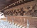 2019.12.21 古井神社 (3) 拝殿のきした(にし) 2000-1500