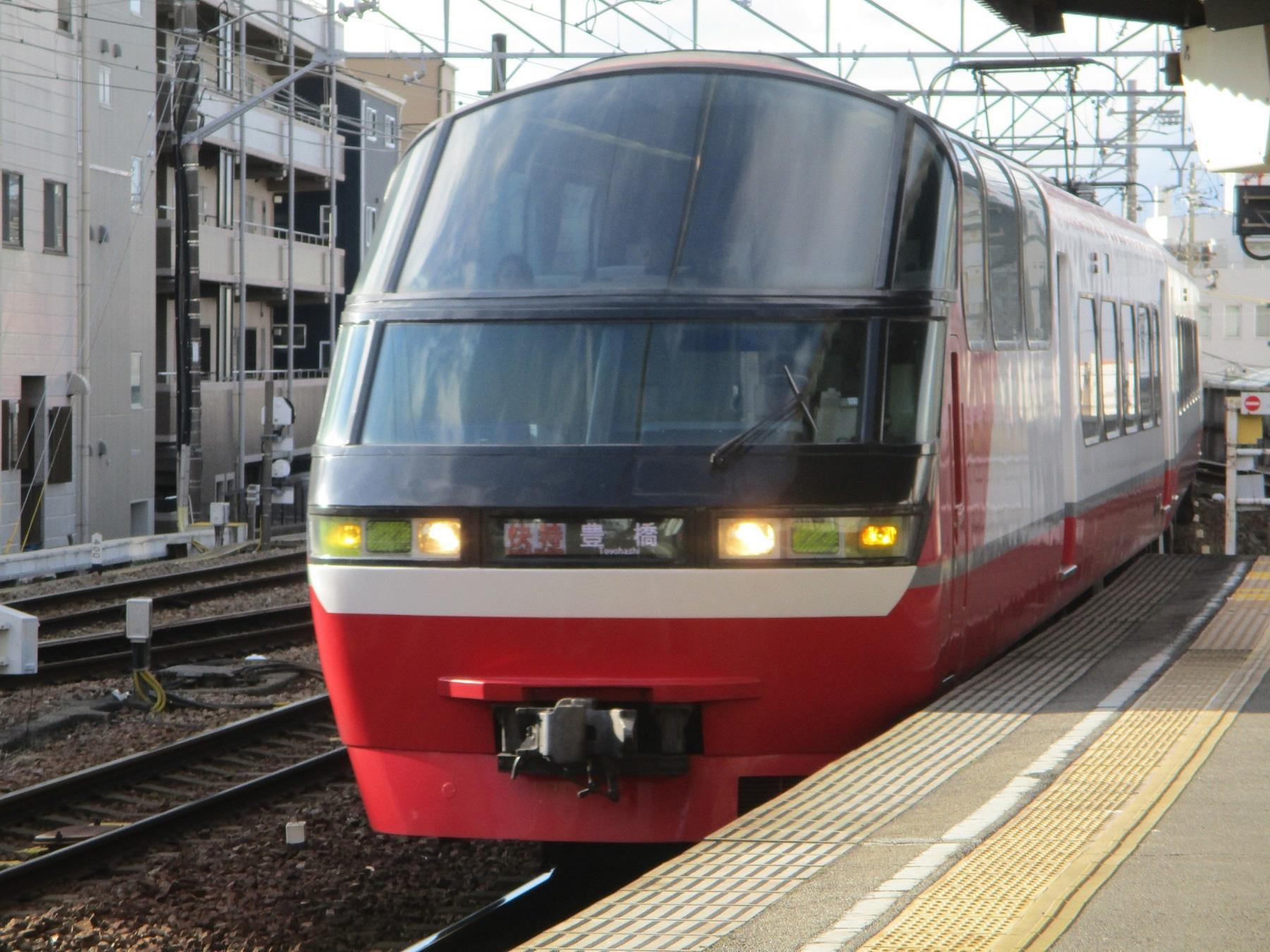 2019.12.31 (16) 東岡崎 - 豊橋いき快速特急 1800-1350