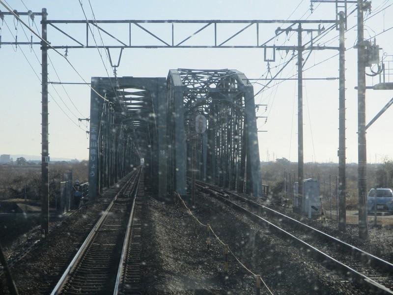 2020.1.21 (13) 興津いきふつう - 天竜川鉄橋 1600-1200