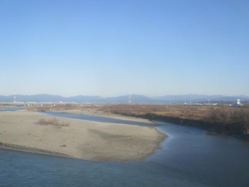 2020.1.21 (15) 興津いきふつう - 天竜川をわたる 1600-1200