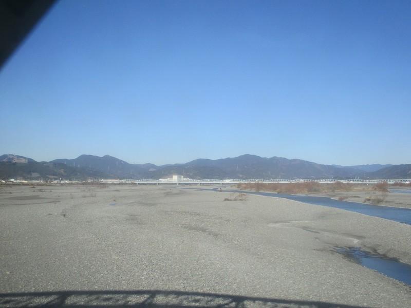 2020.1.21 (40) 興津いきふつう - 大井川をわたる 1600-1200