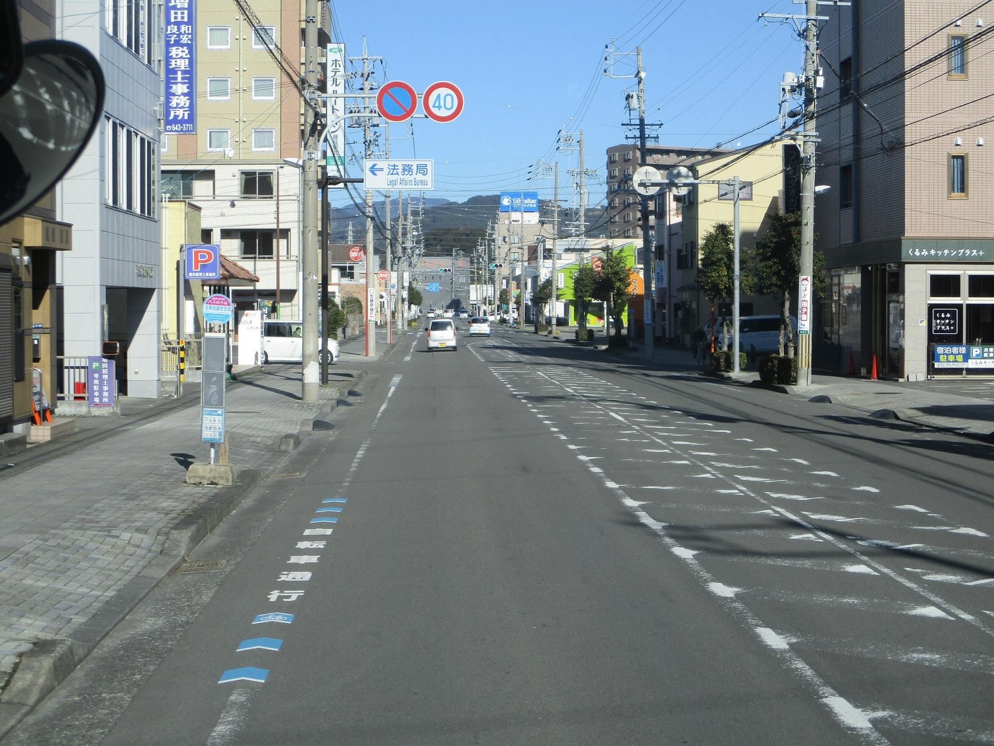 2020.1.21 (55) 新静岡バスターミナルいきバス - 法務局藤枝支局バス停 2000-1500