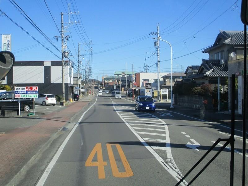 2020.1.21 (60) 新静岡バスターミナルいきバス - バス停間 1600-1200
