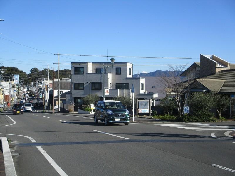 2020.1.21 (66) 藤枝宿 - 勝草橋から富士山 2000-1500