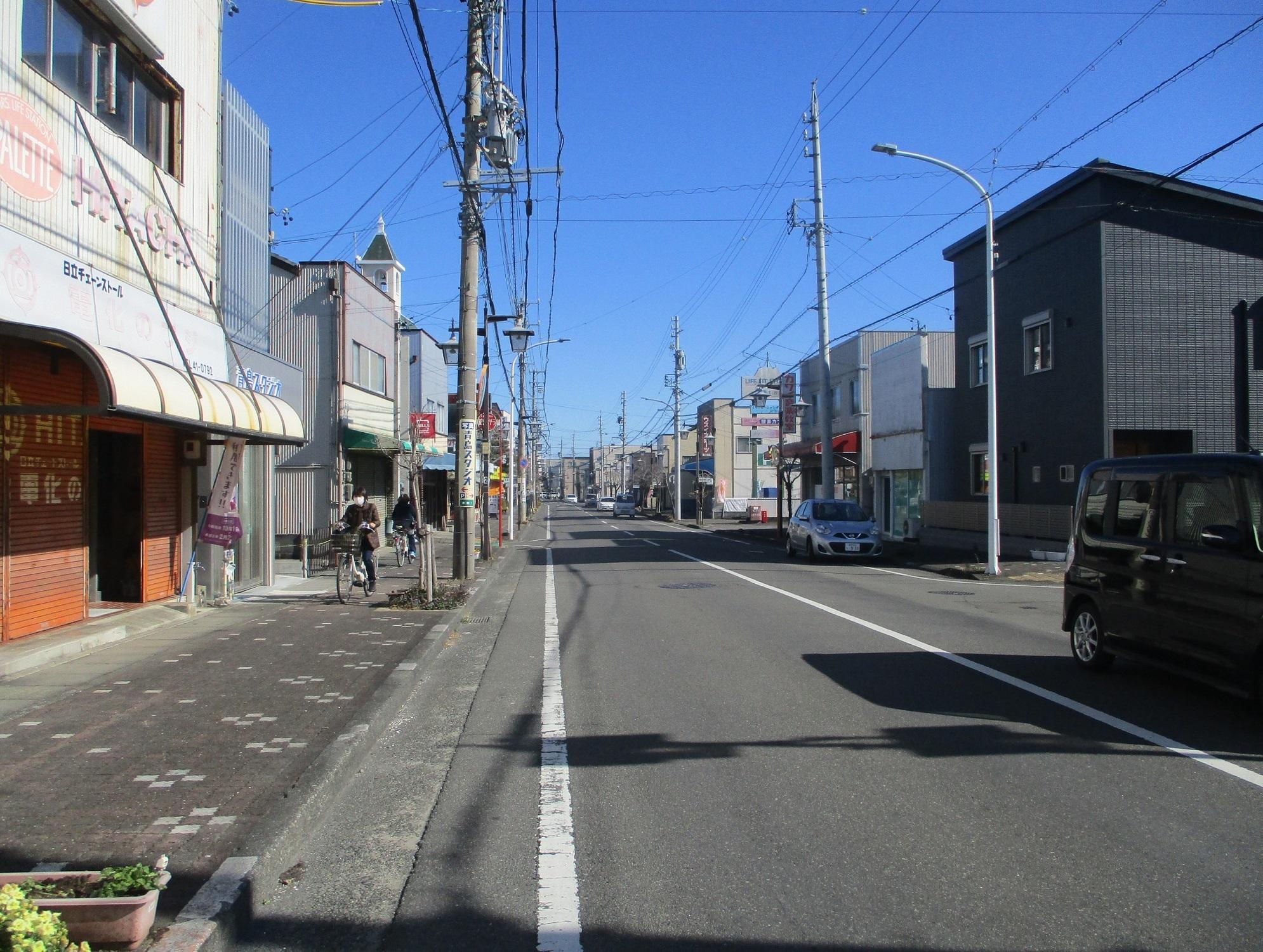 2020.1.21 (82) 藤枝宿 - 長楽寺どおり 1990-1500