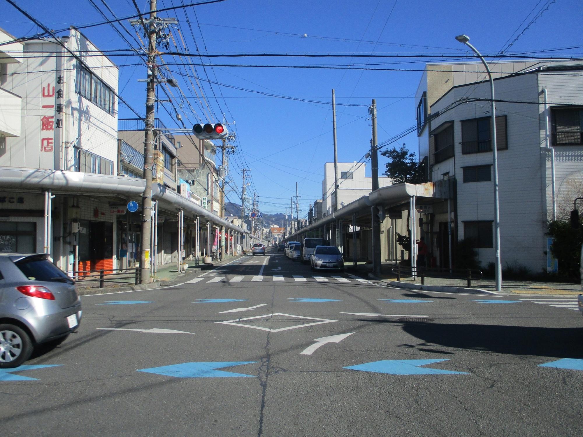 2020.1.21 (84) 藤枝宿 - 白子どおり 2000-1500