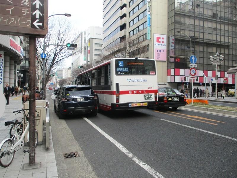 2020.1.22 (16) 松坂屋前バス停 - 愛知医科大学病院いきバス 2000-1500