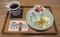 2020.1.25 カフェハグス - プリンとチーズケーキのセット 1200-730