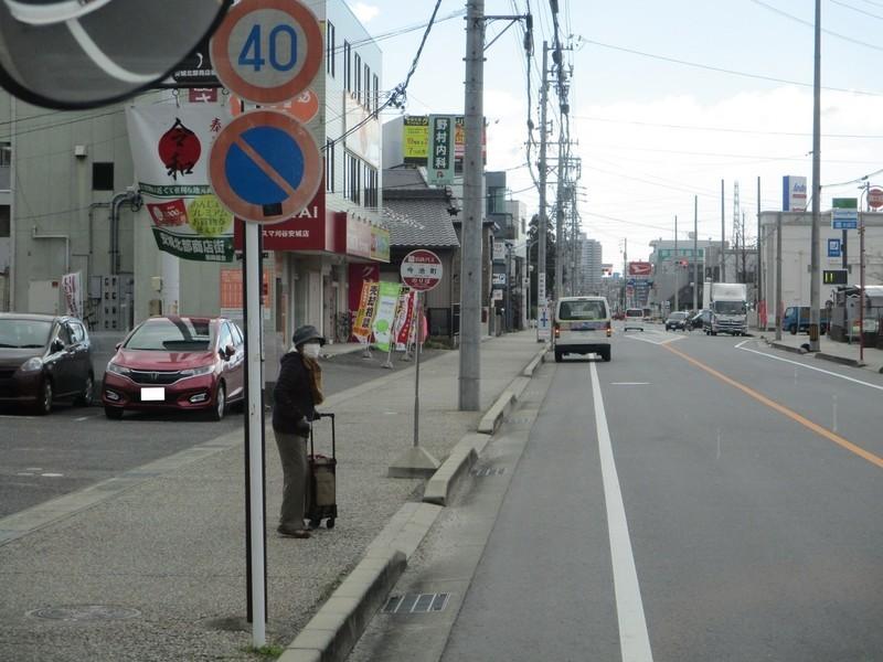 2020.1.29 (7) 更生病院いきバス - 今池町バス停 1560-1170