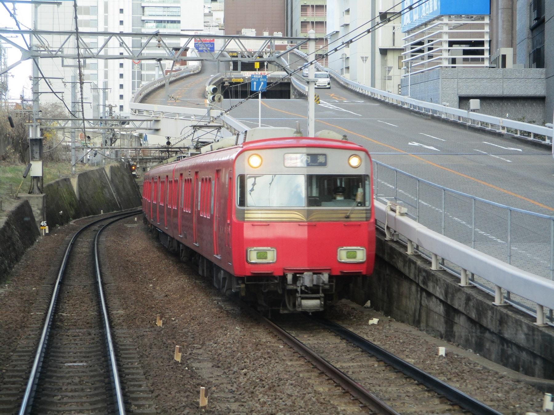2020.1.30 (20) 一宮いき急行 - 名古屋てまえ 1800-1350