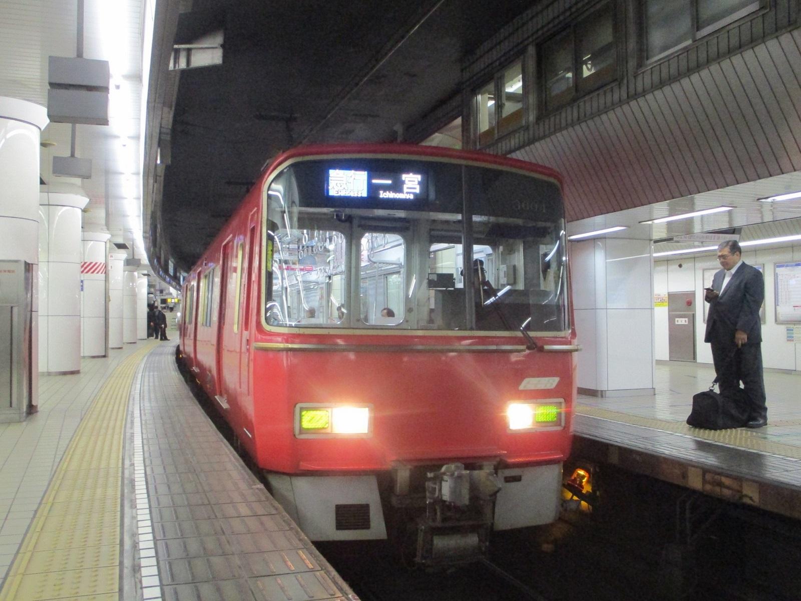 2020.1.30 (21) 名古屋 - 一宮いき急行 1600-1200
