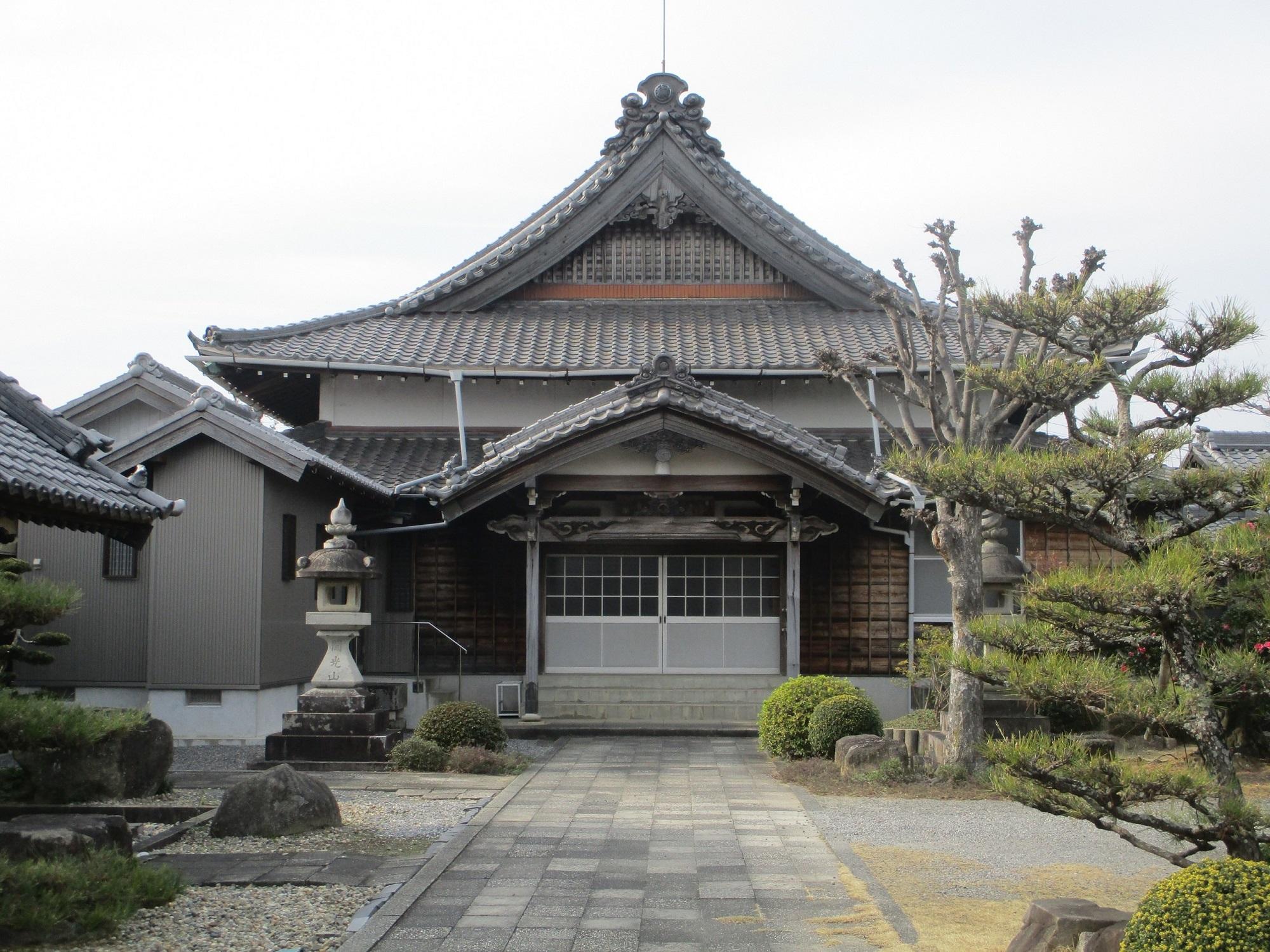 2020.2.3 (3) 城泉寺 - 本堂(武徳殿たてもん) 2000-1500