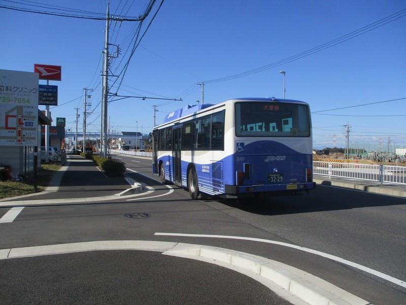 2020.2.4 (27) 上志段味バス停 - 大曽根いきバス 2000-1500