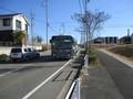 2020.2.4 (58) 志段味大塚古墳バス停 - 東谷山フルーツパークいきバス 2000-1