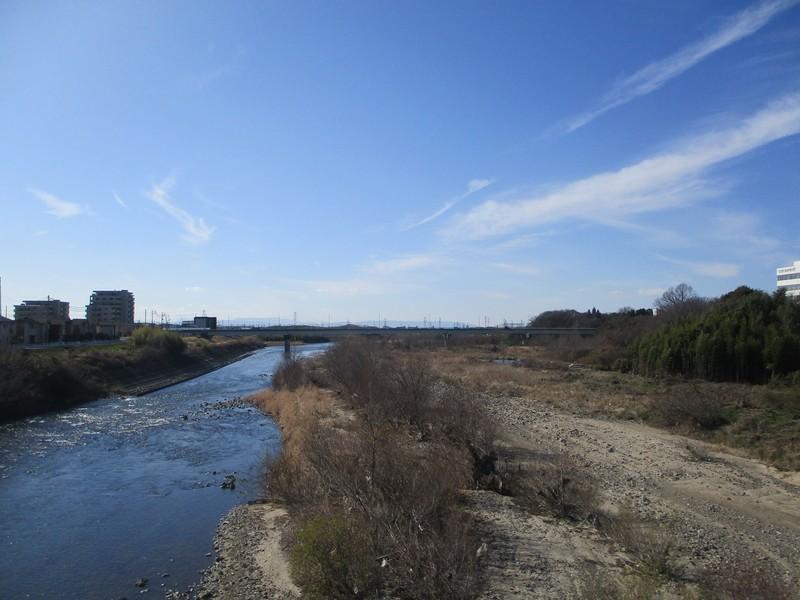 2020.2.4 (59) 東谷山フルーツパークいきバス - 庄内川をわたる 1600-1200