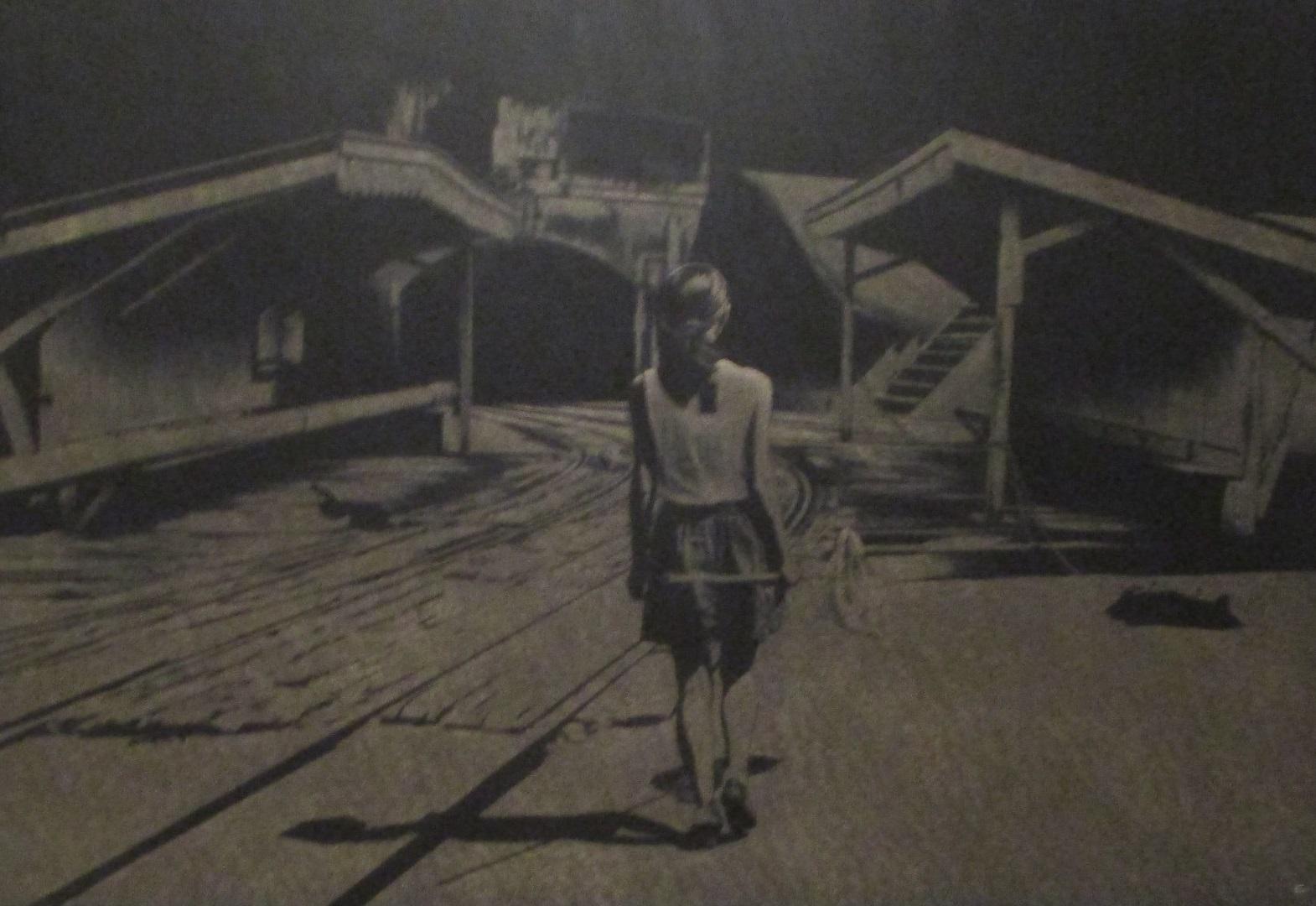 2020.2.13 (5) 八島正明さん『たもをもつ少女のおる風景』 1570-1080