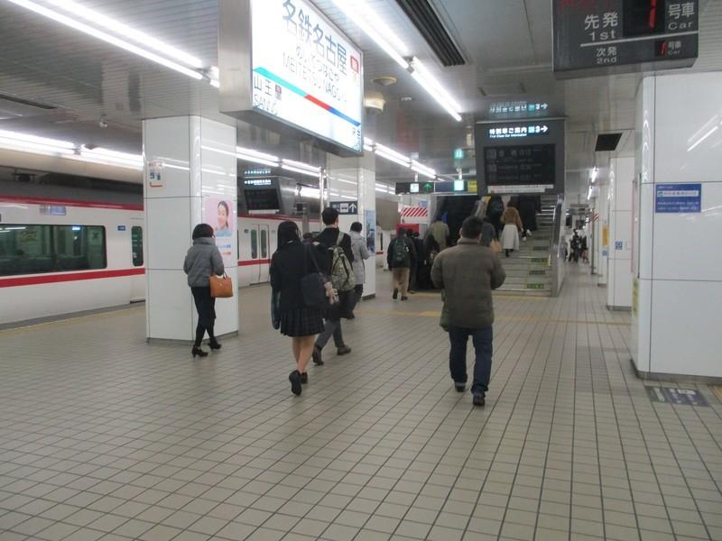 2020.2.18 (7) 名古屋 - 岐阜いき特急 1600-1200