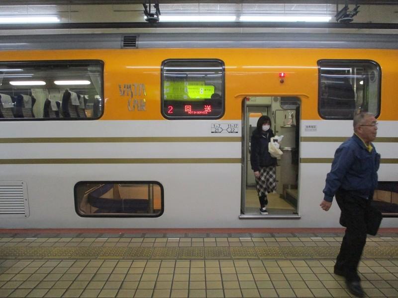 2020.2.18 (50) 名古屋 - 名古屋いき特急から回送に 1600-1200