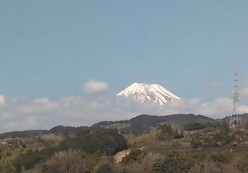 2020.2.21 (17) 博多いきのぞみ29号 - 富士山 1200-840