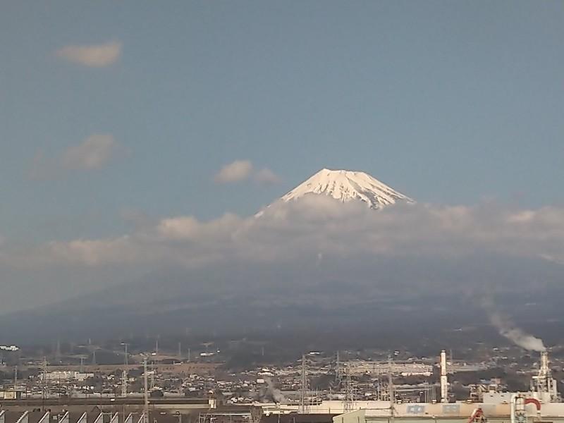 2020.2.21 (18) 博多いきのぞみ29号 - 富士山 1200-900