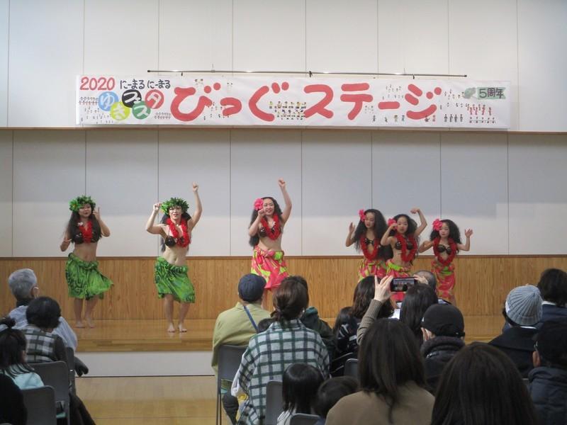 2020.2.23 (46) ゆきフェスタ - タヒチアンダンス 2000-1500