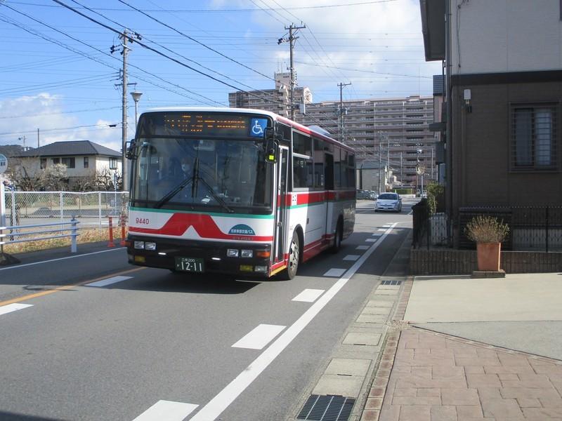 2020.2.23 (49) 長池公園前バス停 - 東岡崎いきバス 2000-1500