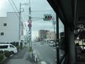 2020.2.26 (11) JR岡崎駅西口いきバス - 久后崎交差点を左折 1600-1200