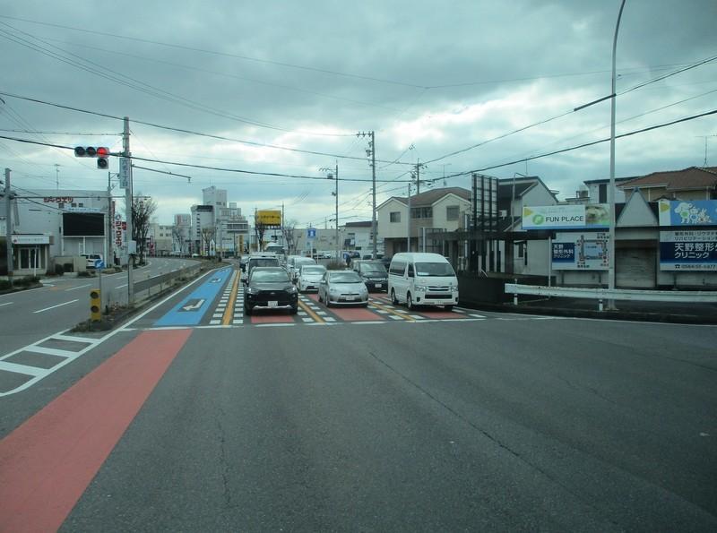 2020.2.26 (14) JR岡崎駅西口いきバス - 六名1丁目交差点を直進 1600-1190