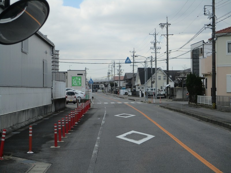 2020.2.26 (20) JR岡崎駅西口いきバス - バス停間 1800-1350