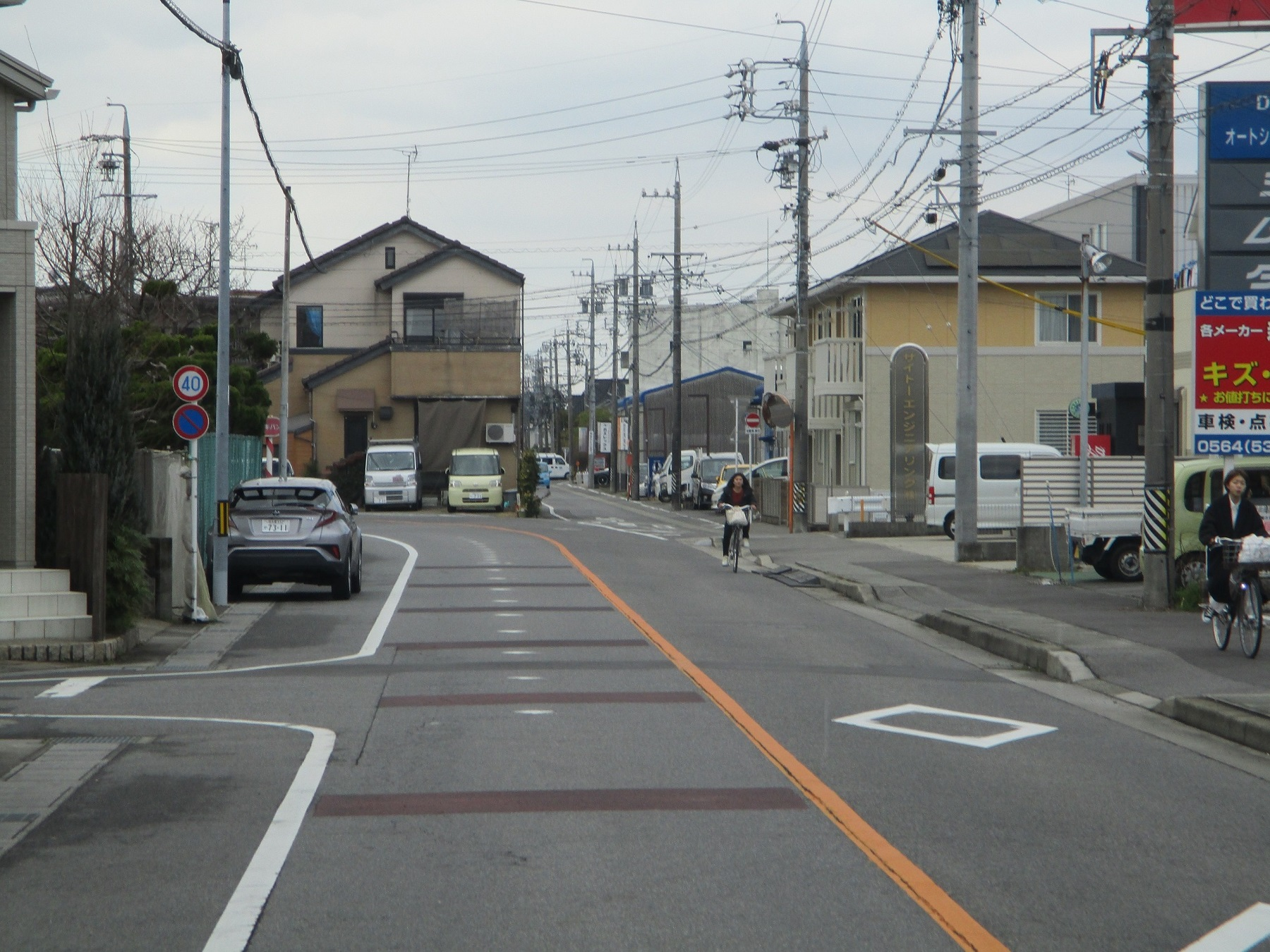 2020.2.26 (22) JR岡崎駅西口いきバス - バス停間 1800-1350