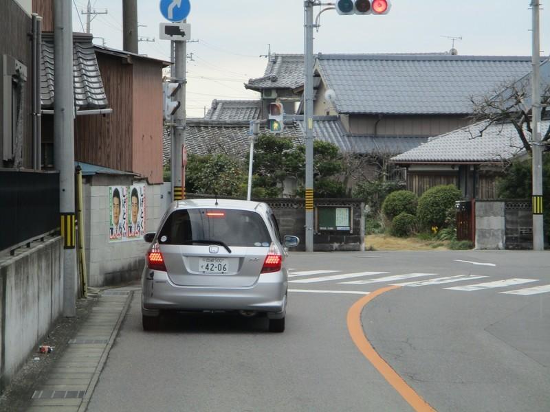 2020.2.26 (24) JR岡崎駅西口いきバス - 赤渋町上郷中交差点 1600-1200