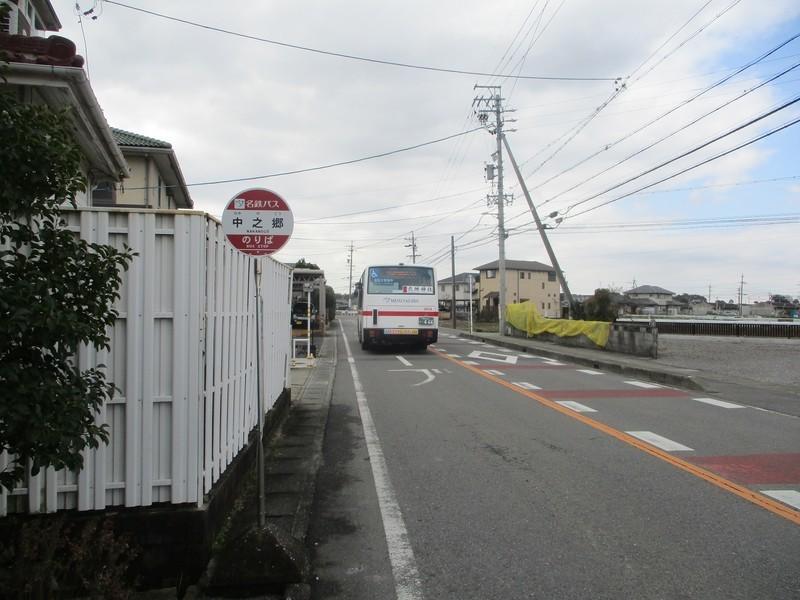 2020.2.26 (28) 中之郷バス停 - JR岡崎駅西口いきバス 1600-1200