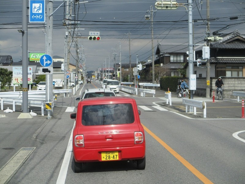 2020.2.26 (43) JR岡崎駅西口いきバス - 法性寺交差点を直進 1400-1050