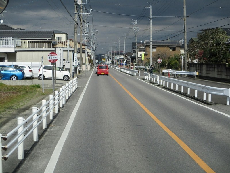 2020.2.26 (44) JR岡崎駅西口いきバス - 法性寺町バス停 1560-1170